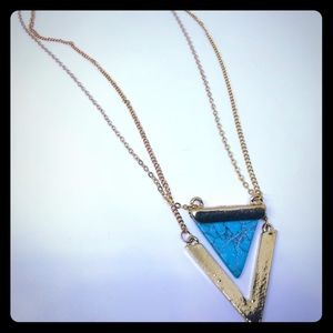 Jewelry - Triangle Fashion Simple Necklace